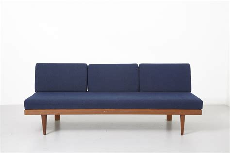 daybed couch cushions daybed in teak with blue cushions modestfurniture com