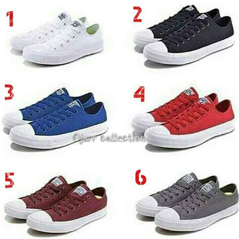 Converse All Low Grade Ori Navy Sepatu Import Limited harga sepatu converse all hitam grade ori id