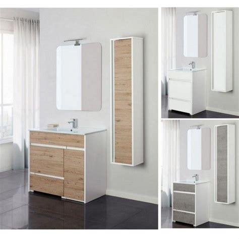 mobili bagno da terra mobile bagno da 60 o 90 in 3 colori a terra con specchio