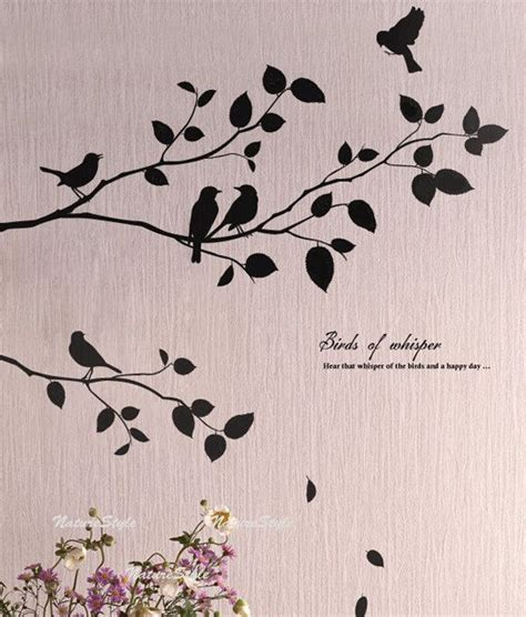 Bird Wall Decor by Best 25 Bird Wall Ideas On Pistachio