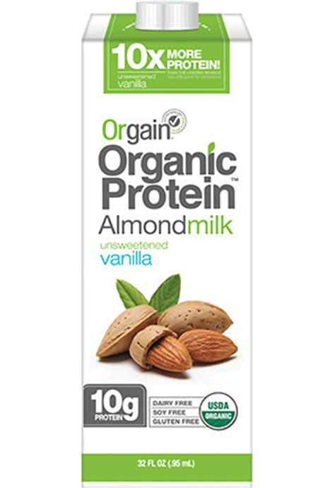protein almond milk protein content of almond milk 40 minutes workout