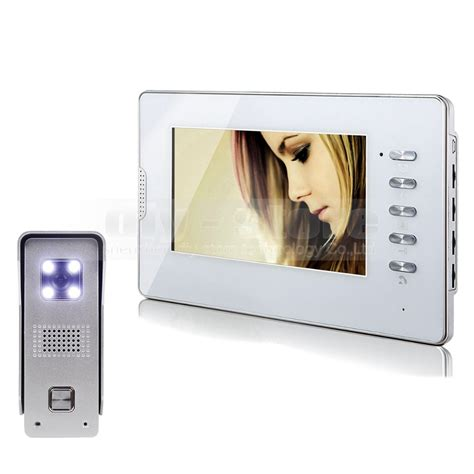 new 7 quot wired door phone intercom doorbell home