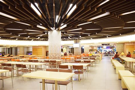 food court lighting design 餐廳