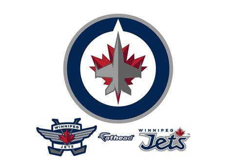 Auto Decals In Winnipeg by Winnipeg Jets Logo Wall Decal Shop Fathead 174 For Winnipeg