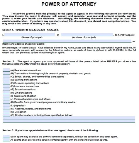 free medical power of attorney missouri form adobe pdf