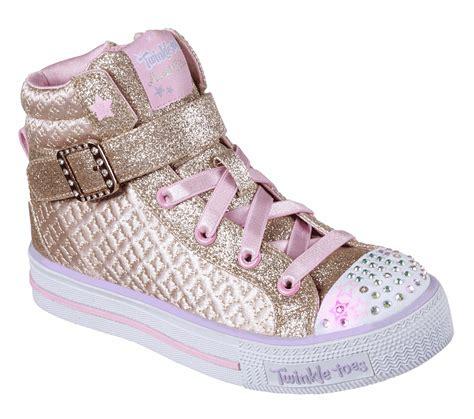 Sepatu Skechers Twinkle Toes buy skechers twinkle toes shuffles twinkle charm