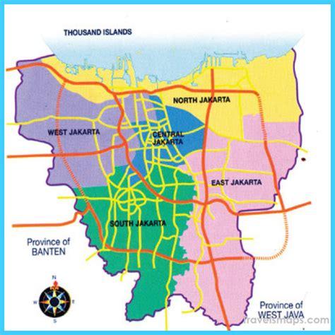 map  jakarta jabodetabek travelsmapscom