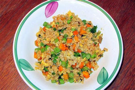 A Recipe From My Kitchen Garden Vegetable Fried Garden Vegetable Rice