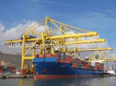 city rubber sts quayside container gantry crane manufacturer from china