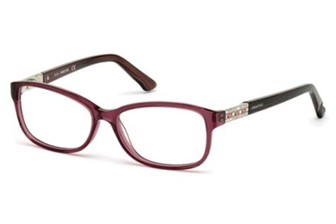swarovski sk5155 foxy eyeglasses by swarovski free shipping