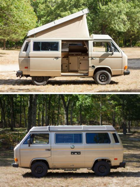 westfalia awning for sale 1986 gold vw vanagon westfalia cer van 10k miles