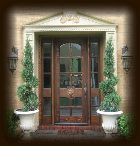 36 X 96 Wood Front Door by Front Door Entryway Designs Cypress Exterior Wood Entry