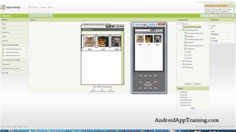 layout mit app inventor app inventor changing the graphic layout youtube