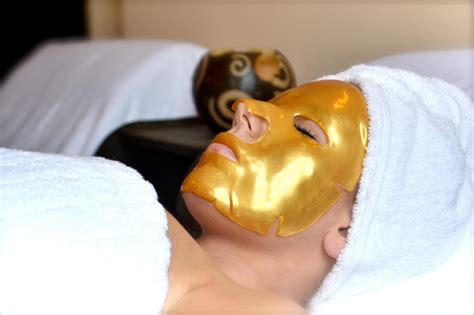 Collagen Mask treat yourself at a luxury spa travel channel roam
