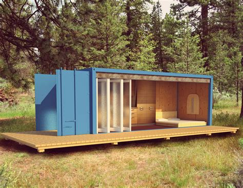 SHIPPING CONTAINER CABIN   Collaborative Design Blog