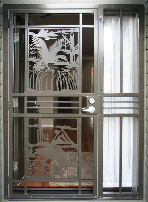 charming custom security door d36 on creative home
