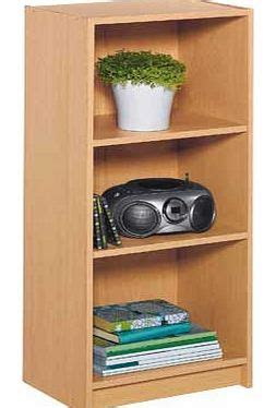 small extra deep bookcase beech book shelves