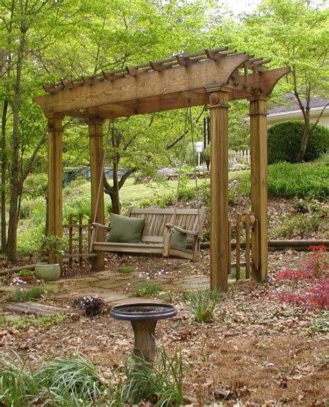 japan swing swing arbor in the arbor garden arbor garden deb s