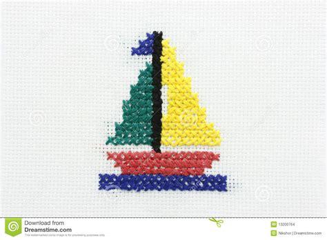 imagenes de barcos para bordar bordado de la imagen de un barco con una vela imagenes de