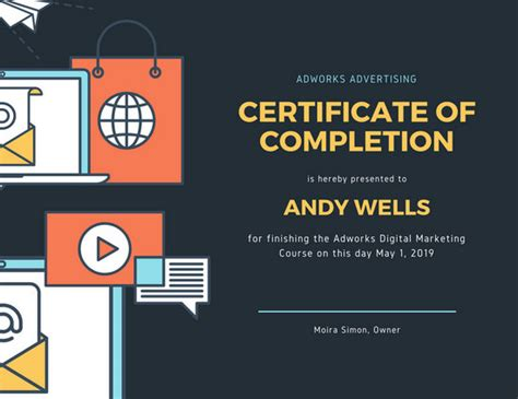 book club membership certificate templates  canva