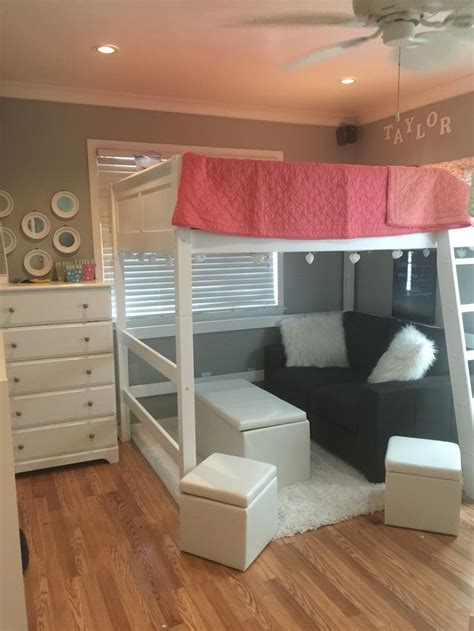 loft bed for teenager 17 best ideas about teen loft beds on pinterest teen