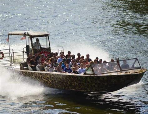 wisconsin dells jet boat tour wild thing dells army ducks - Wild Thing Jet Boat Wisconsin Dells