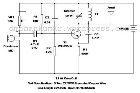 4 transistor fm transmitter fm transmitter circuit page 3 rf circuits next gr
