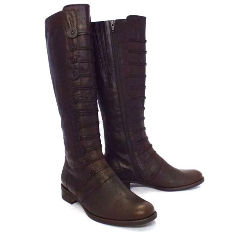 brown boots gabor boots argyll boots in brown mozimo