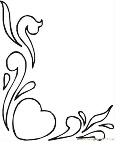 coloring pictures of flowers and hearts coloring pages of roses and hearts coloring home