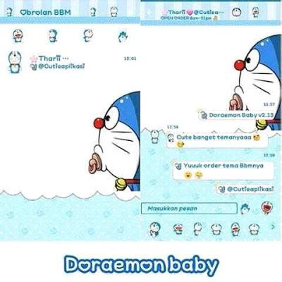 Baby Jelly Doraemon For Iphone kumpulan bbm mod doraemon apk bbm mod base 3 3 1 24