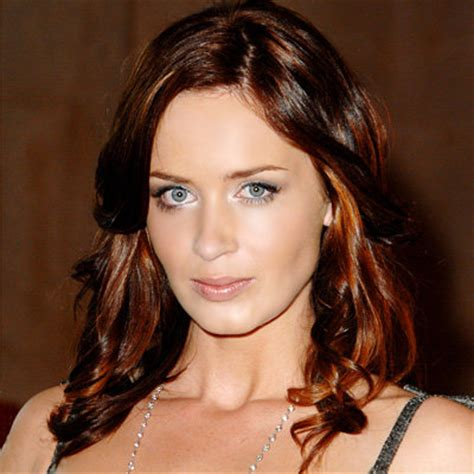 hairstyles for women with cleft chin emily blunt s changing looks instyle com