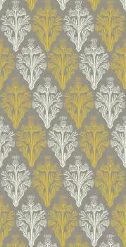 yellow and grey pattern viewing gallery