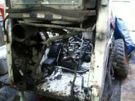 bobcat 773 seat removal 463 bobcat engine removal hydrolic lines installations