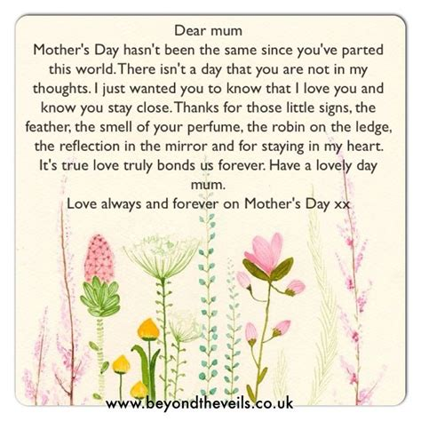 missing you on s day quotes about missing on mothers day quotesgram