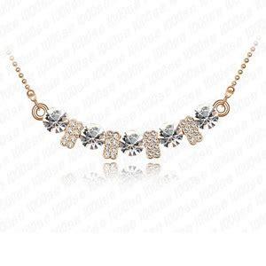 Kalung Rantai Susun Style Korea produsen menjual korean liontin kalung xiangshi fashion perhiasan tinggi end perhiasan