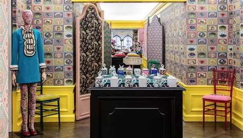 Seymour Unveils New Home Collection At Tavern On The Green In New York City by Gucci Decor Unveils At Bergdorf Goodman Hudsonmod