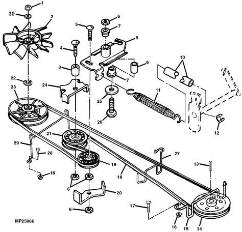 craftsman lt2000 deck diagram craftsman inch mower deck belt diagram oct adorable pics