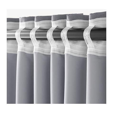 gardinenschals grau ikea marjun vorhang vorh 228 nge verdunkelt 2 schals