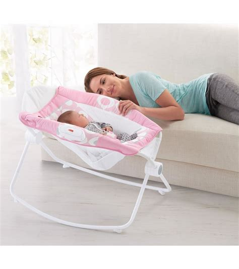 Pink Rock N Play Sleeper by Fisher Price Newborn Rock N Play Sleeper Pink Ellipse