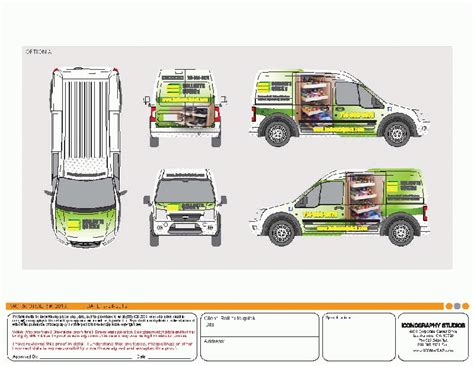 ford transit vehicle wrap template