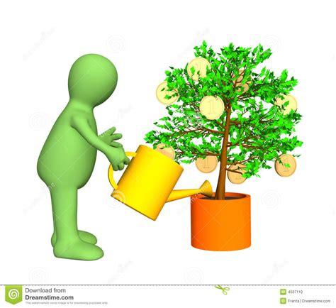 stipendio giardiniere 3d giardiniere albero gold bearing d innaffiatura