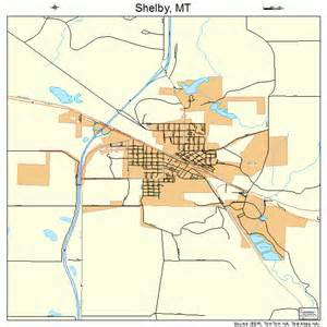 shelby montana map 3067450