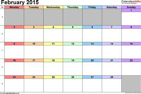 calendar february 2015 template calendar february 2015 uk bank holidays excel pdf word
