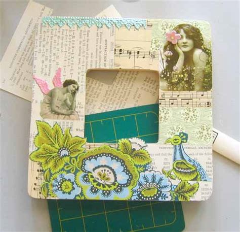 How To Decoupage With Mod Podge - with mod podge how to decoupage picture frames