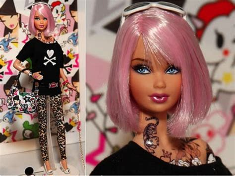 barbie with tattoos with tattoos notenoughgood