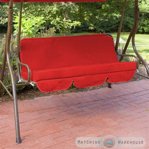 Patio Swing Cushions Replacement by Replacement Cushions For Swing Seat Hammock Garden Pads