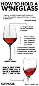 how to hold a wine glass wrong and ruin everybody s holiday season