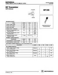 equivalent transistor for bf199 bf199 datasheet equivalent cross reference search transistor catalog