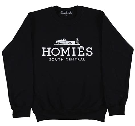 Jaket Zipper Hoodie Sweater Homies South Central 2 brian lichtenberg homies collection upscalehype