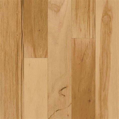 Click Lock Solid Wood Flooring by Bruce Take Home Sle Hickory Rustic Engineered